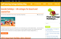 Find Cottage Holidays blog