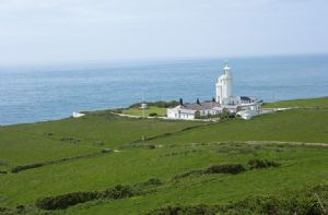 Self catering breaks at Penda Cottage in St Catherines Lighthouse, Isle of Wight
