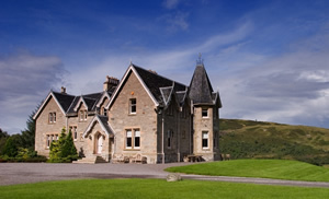 Self catering breaks at Highland Shooting Lodge in Lairg, Sutherland
