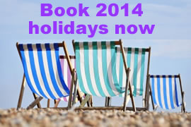 2014 Summer Holiday cottage breaks