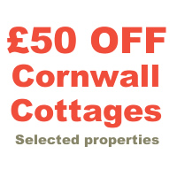 £50 Off Cornwall holiday cottages