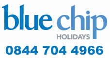 Luxury holidays with Blue Chip