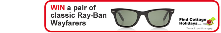 WIN a pair of classic Ray Ban Wayfarers