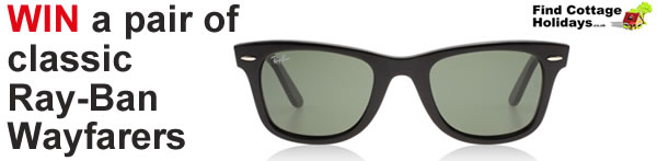 Win Ray-Ban Wayfarer Sunglasses with Find Cottage Holidays