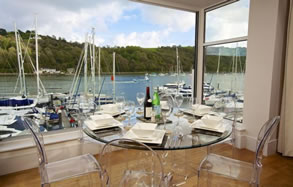 Cottages and apartments on the River Dart, South Devon